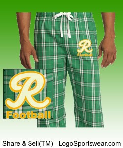 Flannel PJs with Logo Design Zoom